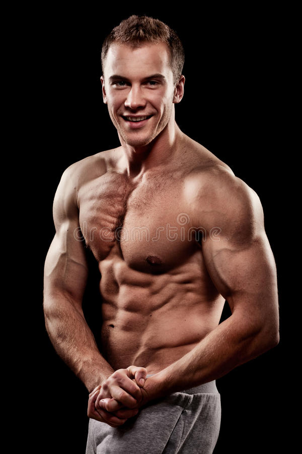 Download Handsome Young Muscular Sports Man Stock Image - Image: 23814025