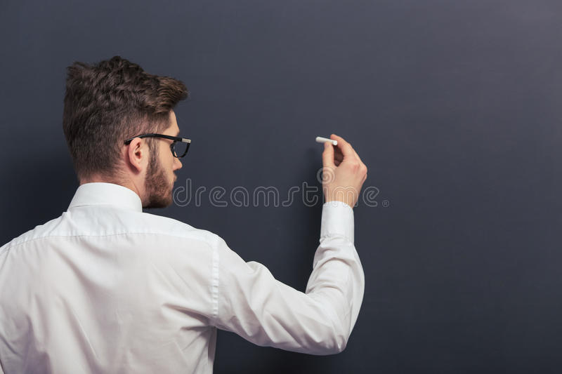 Handsome young student stock images