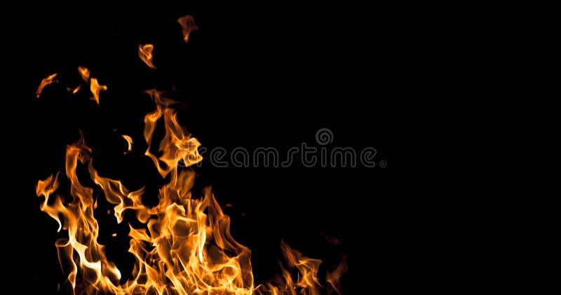 Handstilar för flammabakgrundsmöjlighet royaltyfria foton