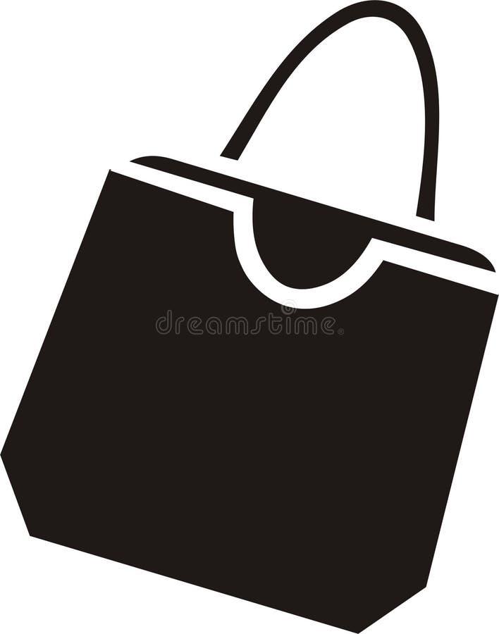 Handtas stock illustratie