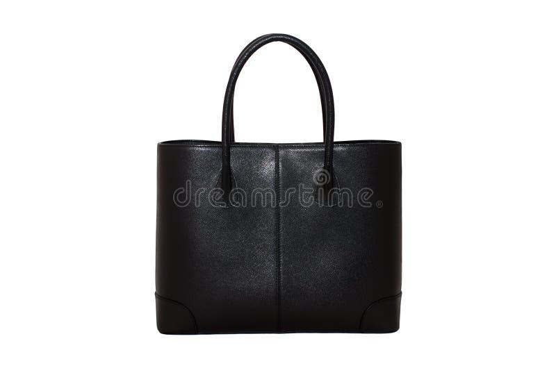 Handtasche der schwarzen Frau lizenzfreie stockfotos