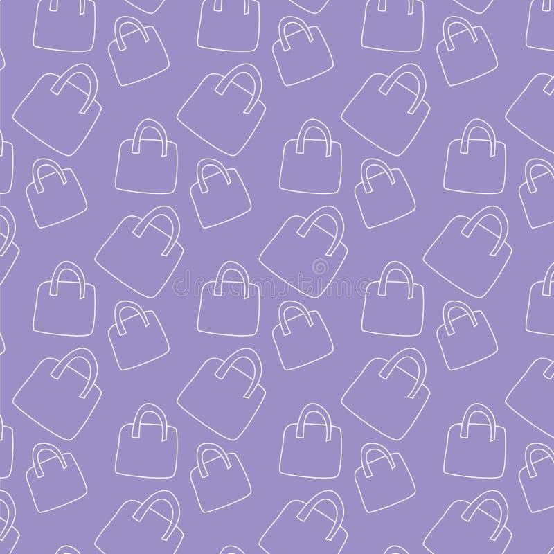 Handtaschenmuster stock abbildung