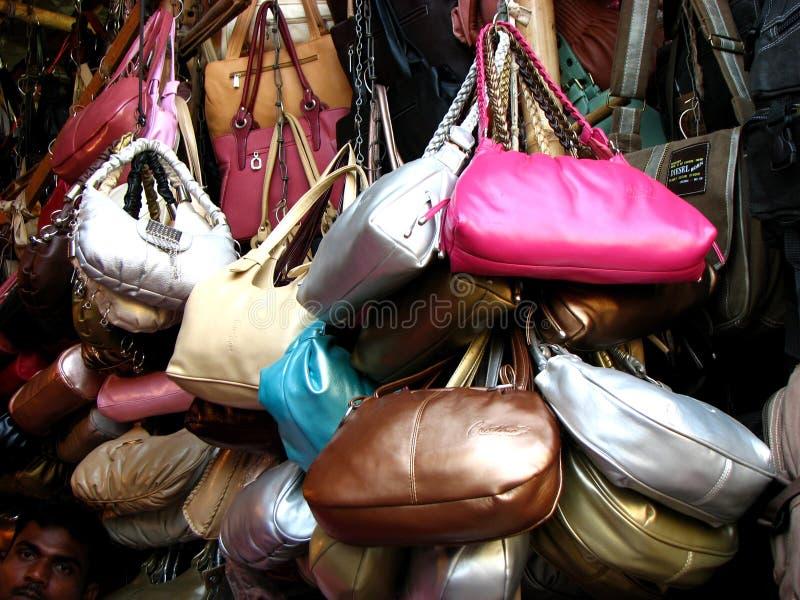 Handtassen stock afbeelding