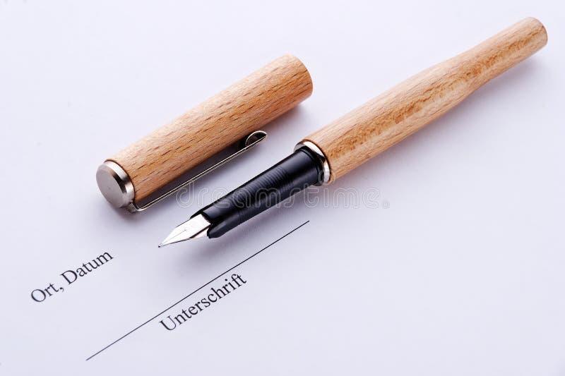 Download Handtekening stock afbeelding. Afbeelding bestaande uit brief - 10775201