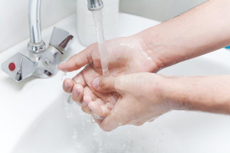 handtvätt royaltyfri foto