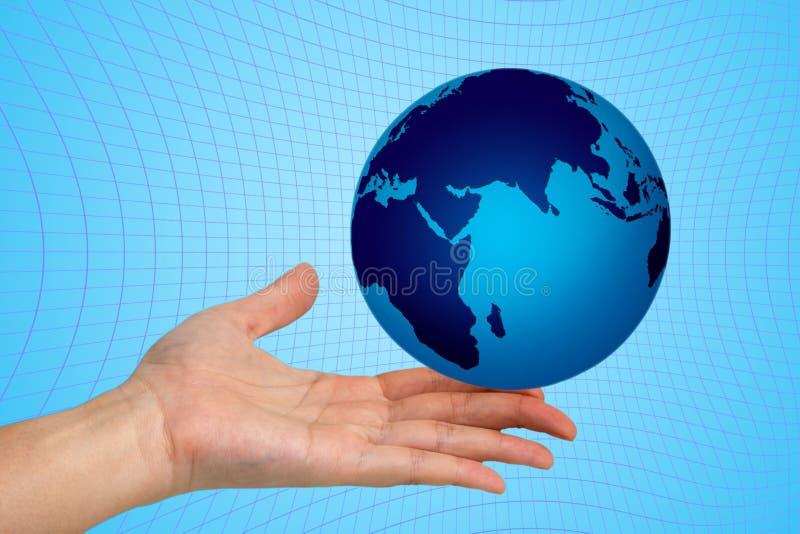 Download Handvärld fotografering för bildbyråer. Bild av fingerspetsar - 999259