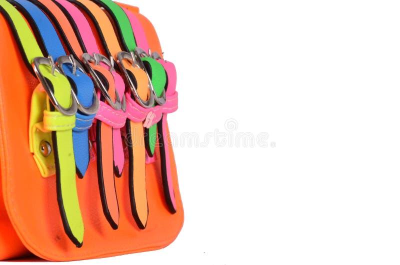 Handväska- ELLER kvinnahandväska arkivfoto