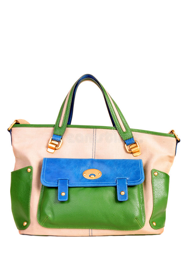 handväskakvinnor royaltyfri bild