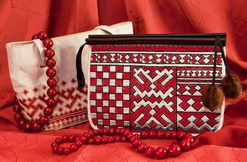 handväskapar royaltyfri bild