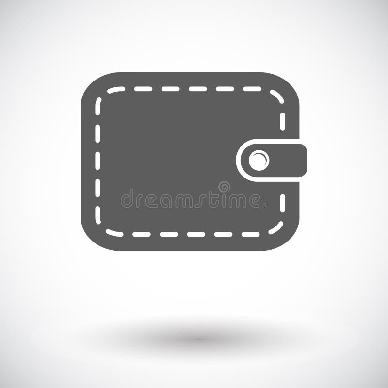 Handväskasymbol royaltyfri illustrationer