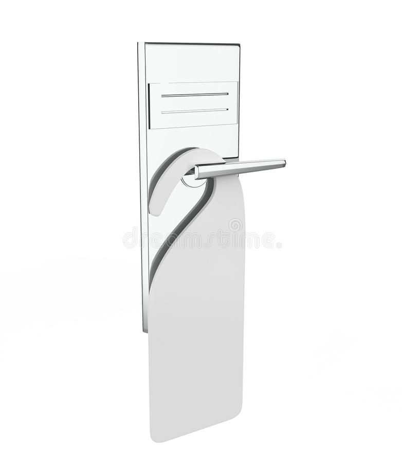 Handvat van deur vector illustratie