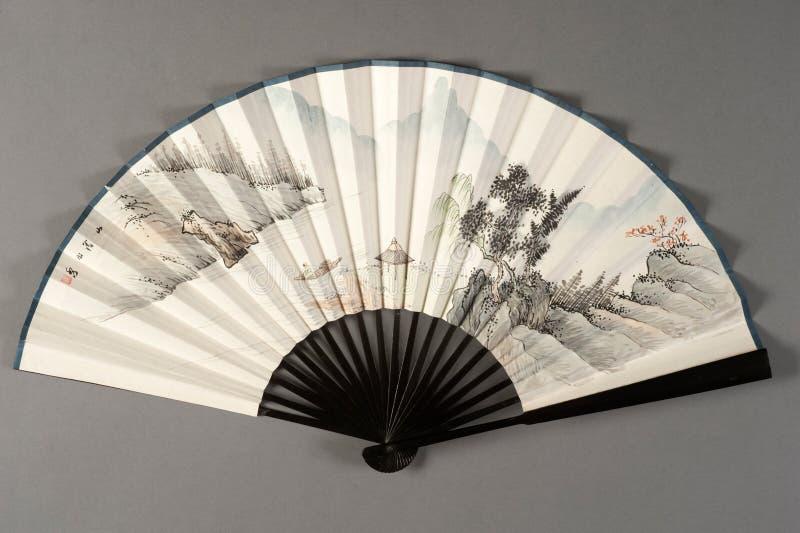 Handventilator van Chinees theater stock foto's