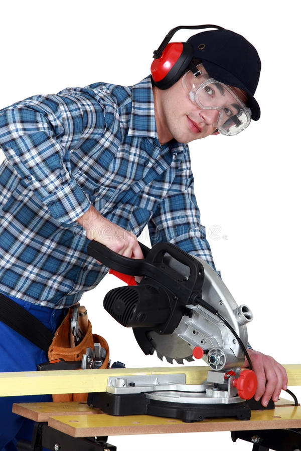 Handwerkerausschnittholz stockfotografie