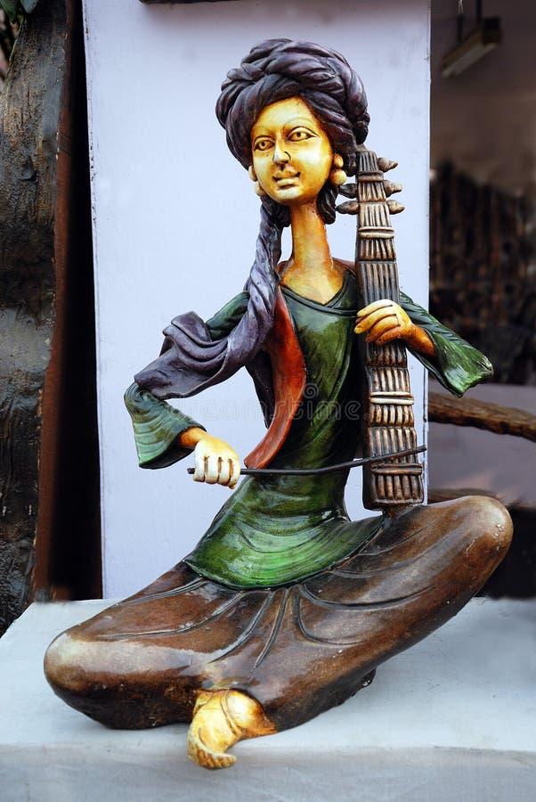 Handwerkkünste von Indien stockfotos