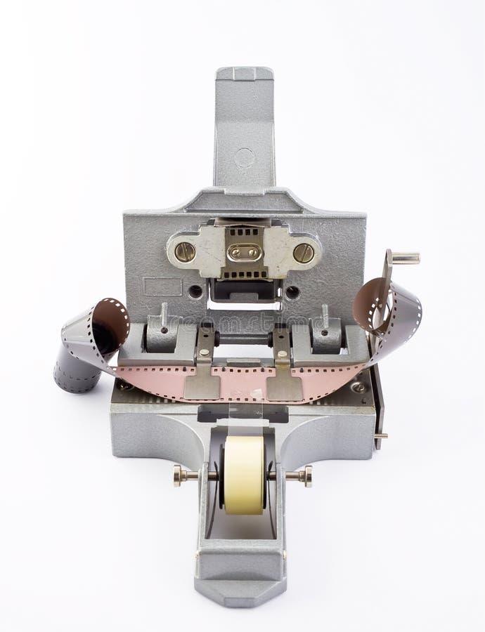 Handwerkzeugmaschinenpasten zusammen ein Film lizenzfreie stockfotografie