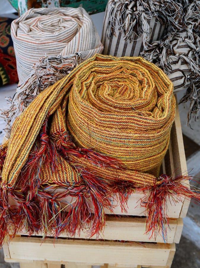 Handwoven шали стоковая фотография