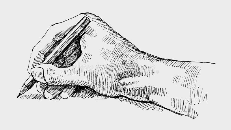 handwriting vektor illustrationer