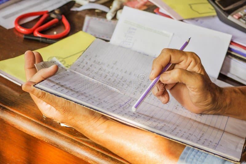 handwriting zdjęcia stock