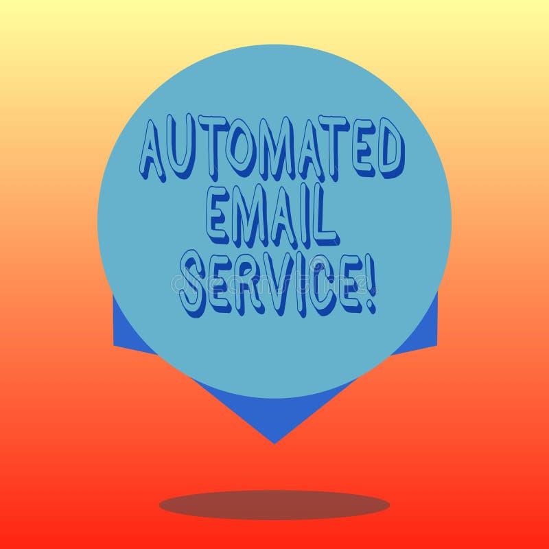 Handwriting tekst Automatyzująca poczta elektroniczna Pojęcie znaczy automatyczny podejmowanie decyzji opierający się na dużych d ilustracji