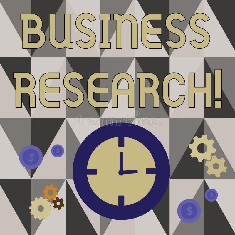 Handwriting tekst pisze Biznesowym badaniu Pojęcia znaczenia proces nabywanie szczegółowa informacja biznes royalty ilustracja