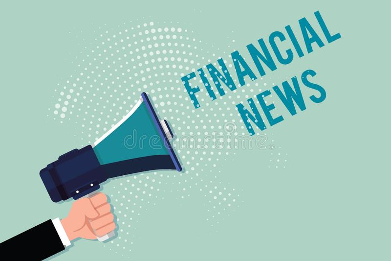 Handwriting tekst pisze Pieniężnej wiadomości Pojęcie znaczy Inwestorskiej bankowości funduszu zarządzania handel i przepis royalty ilustracja