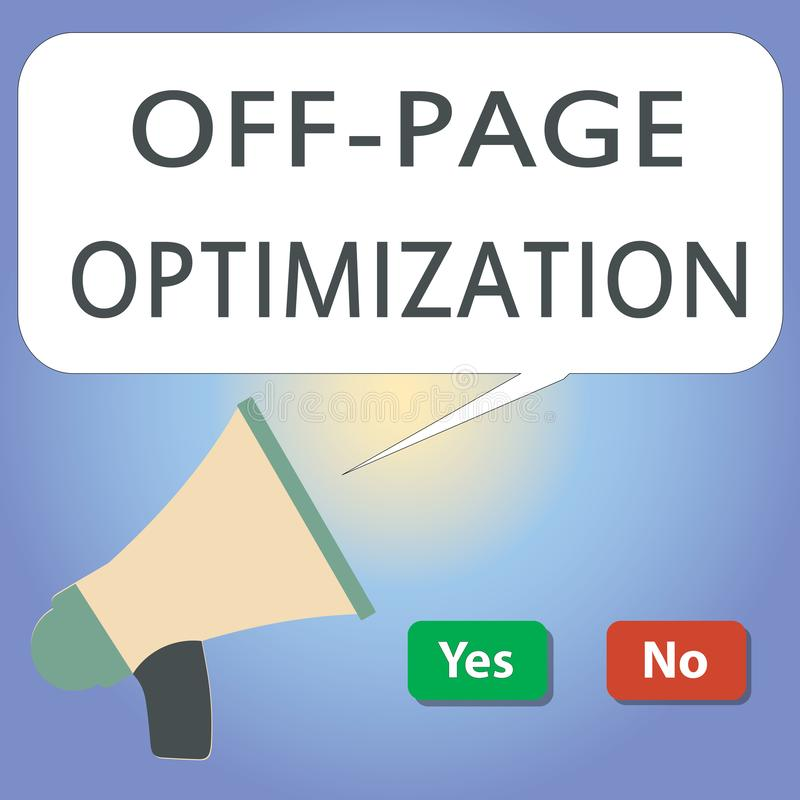 Handwriting tekst pisze Z strona optymalizacja Pojęcia znaczenia strony internetowej External procesu metody Promocyjny Zaliczać  royalty ilustracja