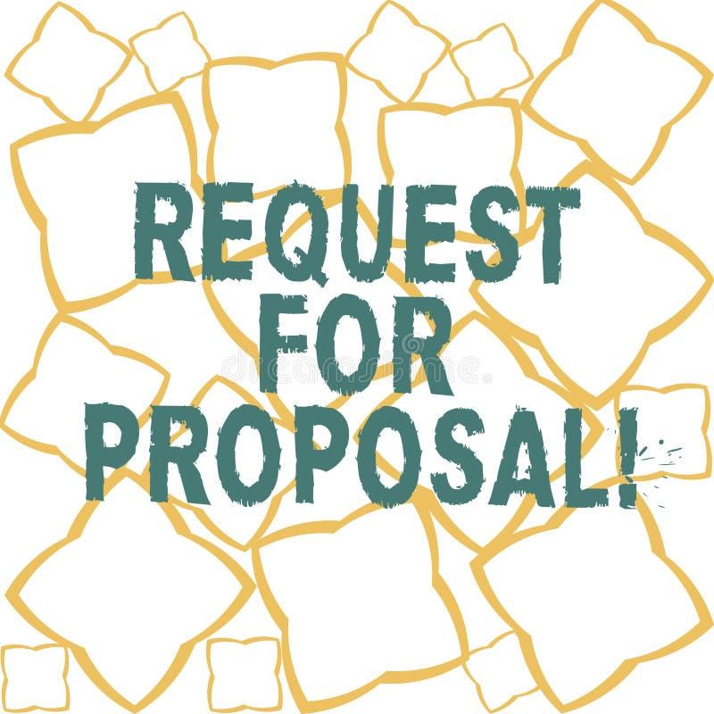 Handwriting teksta prośba Dla propozyci Pojęcia znaczenia dokument który zabiegać o coś propozycję zrobił przez licytuje faborku ilustracji