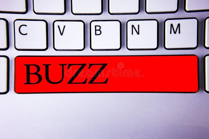 Handwriting teksta writing brzęczenie Pojęcia znaczenia brzęczenia mruczenia trutnia Fizz pierścionek Sibilation Pyrka Alarmowego ilustracja wektor