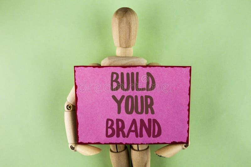 Handwriting teksta writing budowa Twój gatunek Pojęcia znaczenie tworzy twój swój loga sloganu modela Reklamuje E marketing pisać fotografia royalty free