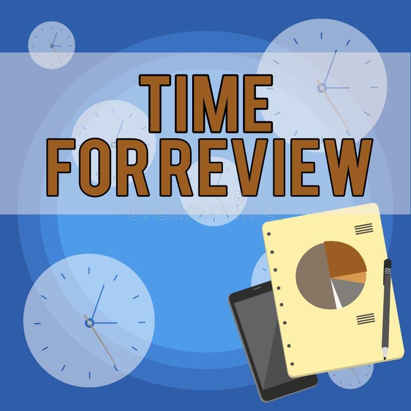 Handwriting teksta writing czas Dla przegl?du Pojęcia znaczenia przegląd sytuacja w swój formalnym egzaminie lub system ilustracji