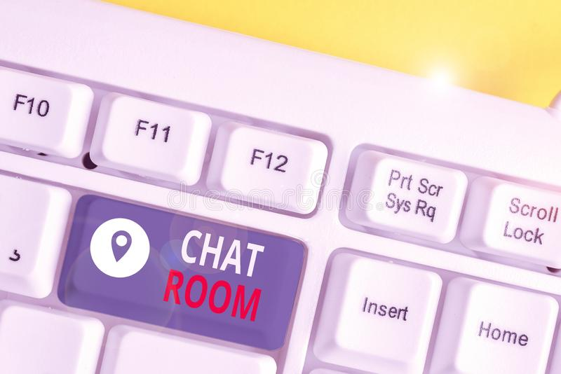 Texting chat room
