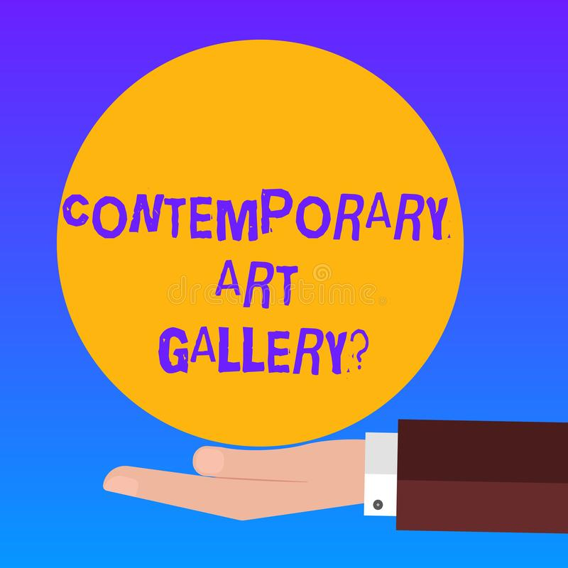 Contemporary What Does It Mean: Painting Art Gallery Logo Stock Vector. Illustration Of