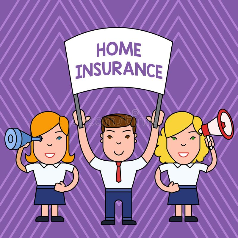 Handwriting Text Home Insurance. Concept Meaning Covers ...