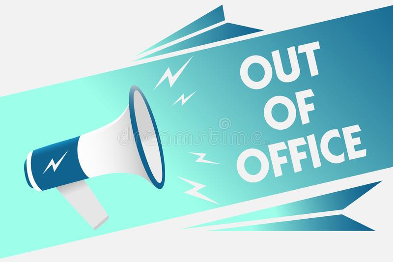 Out Office Stock Illustrations – 6,837 Out Office Stock