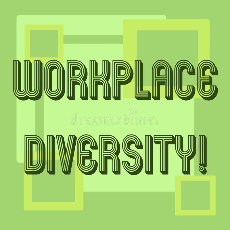 Diversity Meaning Workplace >> Workplace Diversity Stock Illustrations 1 170 Workplace