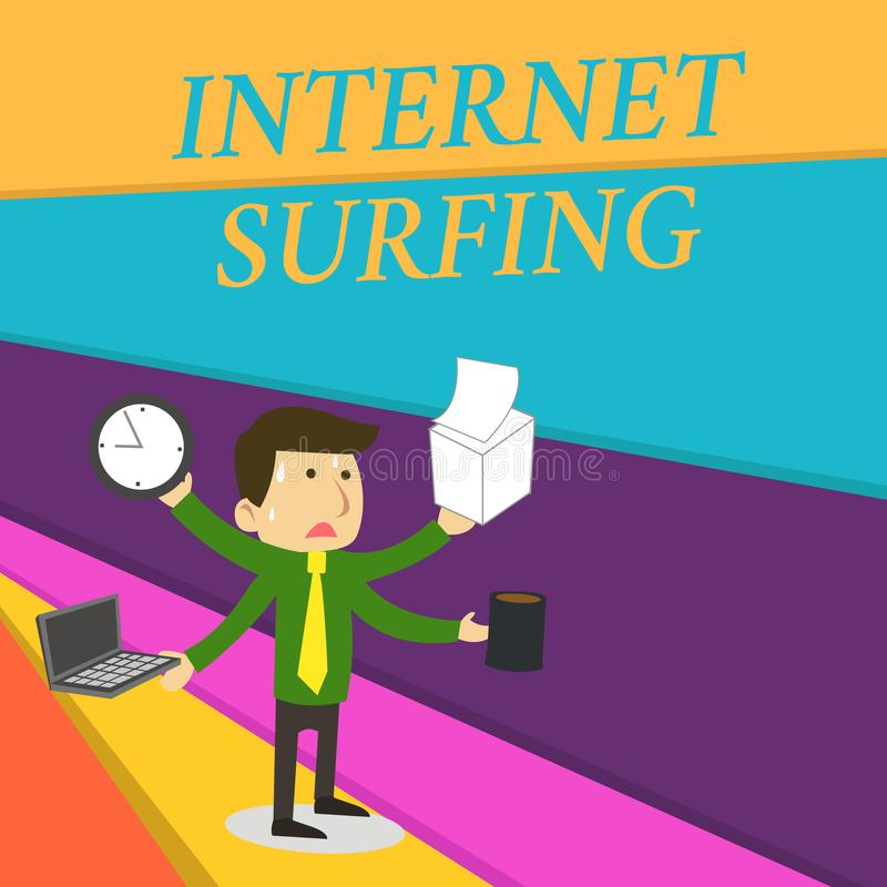 Internet Surfing Stock Illustrations 7 700 Internet