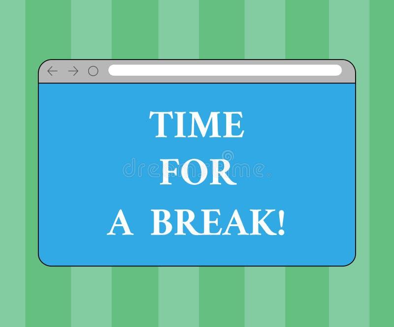 Break Pause Stock Illustrations – 3,568 Break Pause Stock