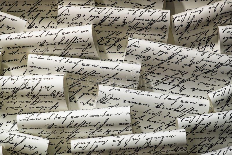 handwritten obrazy stock