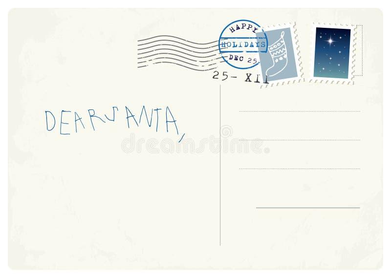 Handwritten letter to santa from child stock vector illustration download handwritten letter to santa from child stock vector illustration of claus empty spiritdancerdesigns Gallery