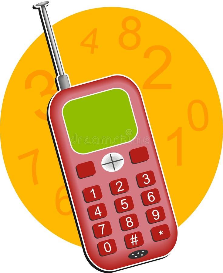 Download Handy vektor abbildung. Illustration von telefone, send - 46180