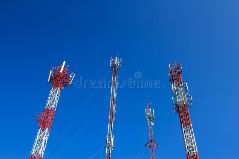 4 Handy-Antenne stockfoto