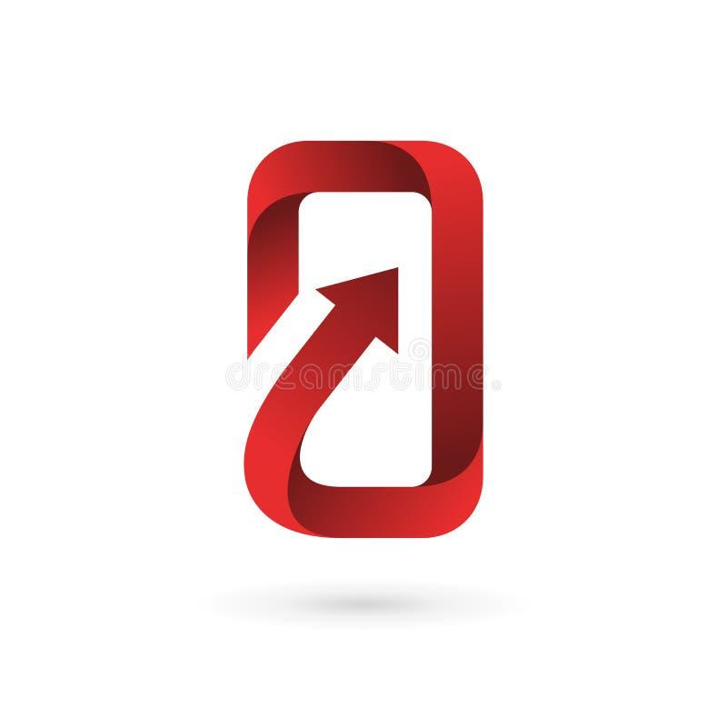 Handy-APP-Logoikonendesign-Schablonenelemente vektor abbildung