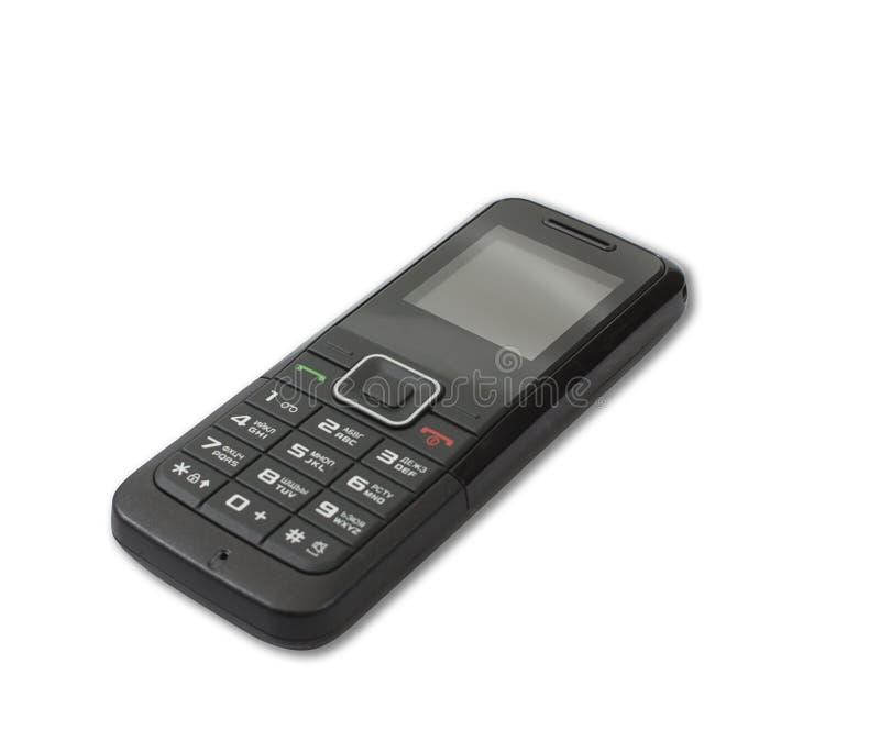 Handy getrennt auf Weiß lizenzfreies stockbild