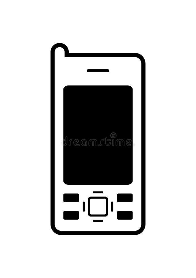 Handy-Ikone lizenzfreie abbildung