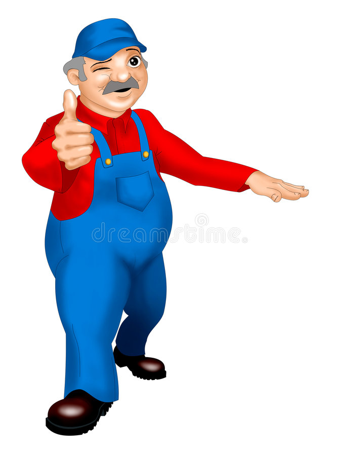 Handy Man Certified Product Stock Photography