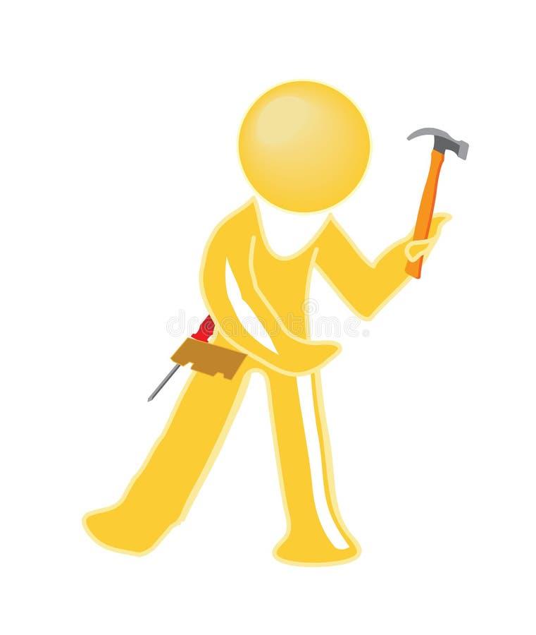 Download Handy Man Icon Stock Photo - Image: 10840120