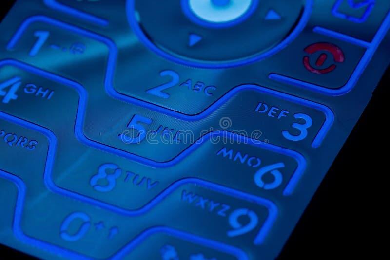 Handy-Tastaturblock stockbilder