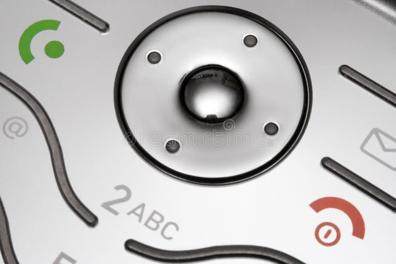Handy-Tastaturblock-Makro lizenzfreie stockbilder