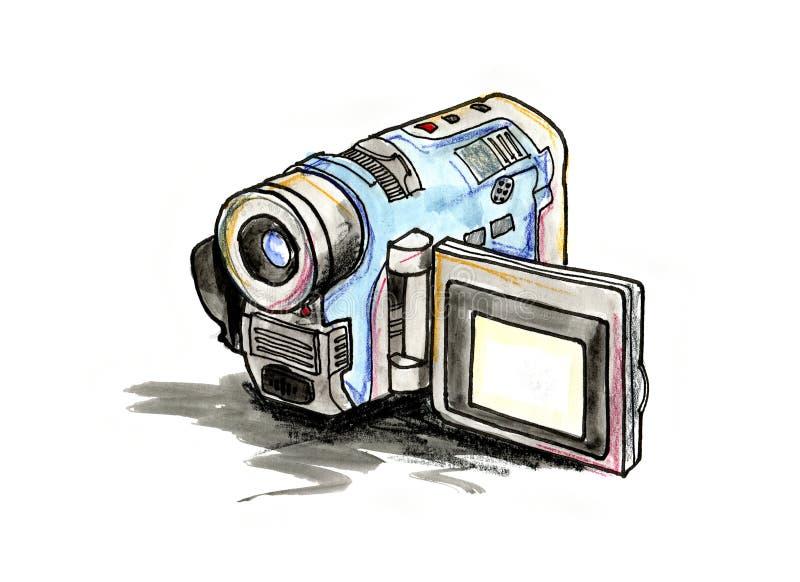Handy video camera stock illustration illustration of - Foto in camera ...