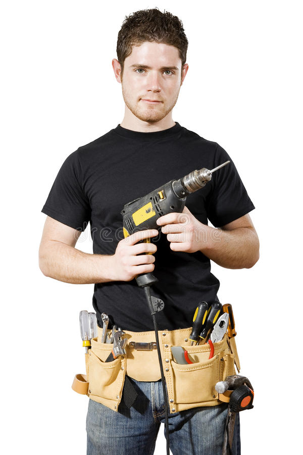 Download Handyman stock photo. Image of builder, caucasian, foreman - 14311824